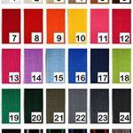 1buy3 sangle en polypropylène 40mm de largeur, 12 mètres de longueur, couleur: 19 - Vert signalisation | également 20mm, 25mm, 30mm ou 50mm de largeur | en 4 ou 12 mètres | 30 coloris de la marque 1buy3 image 1 produit