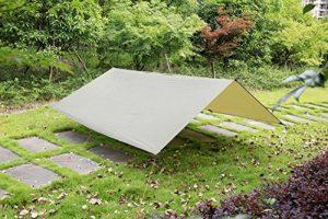 3m x 3m en Ripstop Rain Fly Hamac Tarp Coque Tente Bâche de protection pour camping randonnée extérieur Voyage de la marque Himifutre image 0 produit