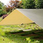3m x 3m en Ripstop Rain Fly Hamac Tarp Coque Tente Bâche de protection pour camping randonnée extérieur Voyage de la marque Himifutre image 3 produit