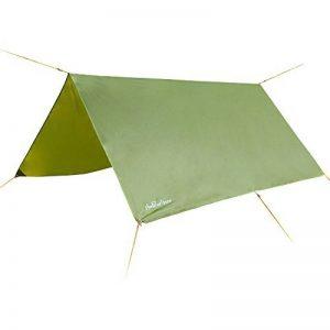 3m x 3m étanche, bâche, toile de tente, bâche anti-pluie, bâche imperméable, abri de randonnée, vert olive de la marque Earlybird Savings image 0 produit
