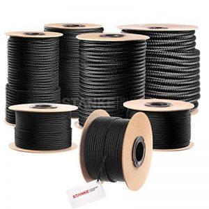 50m 3mm corde Polypropylène Noir/tressé/noir de la marque Seilwerk STANKE image 0 produit