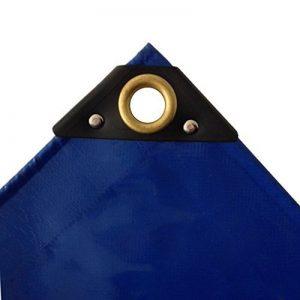 650 G/m² bleu camion bâche pVC bâche industrielle tissu résistant à la déchirure ösenUV bâche bâche de protection étanche 2 x3 de la marque Unbekannt image 0 produit