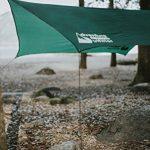 Adventure Gear Outfitter La toile goudronnée de Tente de Mouche de Pluie de Hamac le Nylon Ripstop Fort - Inclut Tout Vous A besoin Pour la Configuration(le Coup monté) Facile. de la marque Adventure Gear Outfitter image 4 produit