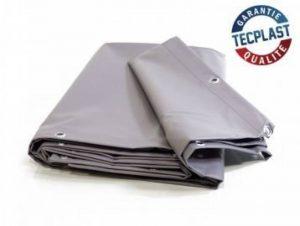 Bache 680 g/m² - 2 x 3 - Bache Grise - Baches PVC - Bache exterieur pour une bonne étanchéité - bache imperméable de la marque Bâches Direct image 0 produit