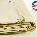 Bâche 680 g/m² - Bache Ignifugée M2-2 x 3 m - Bache Ivoire - Baches PVC - bâches étanches - bache anti feu - ignifugé de la marque Bâches Direct image 2 produit