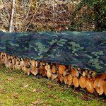 Bache Camouflage casa pura® Légère - Coins Renforcés | Bache de Protection | Résistant aux UV | Densité 100g/m² | Bache Militaire, 3x5m de la marque casa pura image 3 produit
