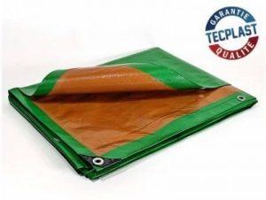 Bache de protection 250 g/m² - 3 x 5 m - bache plastique - bache exterieur - bâches étanches - bache toiture - bache de chantier de la marque Bâches Direct image 0 produit