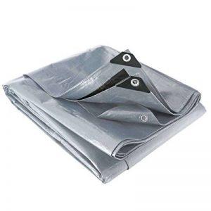 Bâche noire et grise 200 g/m² 6 x 6 m de la marque Provence Outillage image 0 produit