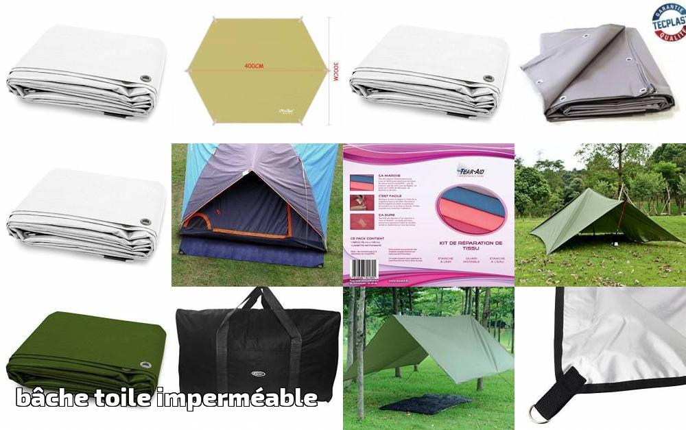 Étanche Toile de Outdoor Tissu Tissu Bâche De Protection Bâche Tente Sac Coudre