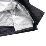 Basong Housse de Protection Bâche Couverture Jardin pour Meuble Barbecue Extérieur Rectangulaire Anti-UV Anti-Pluie Anti-Poussière Noir 242*162*100CM de la marque Basong image 4 produit