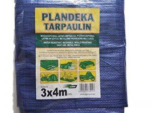 Bâche 3x 4m Tapis de sol avec anneaux en métal couvertures Sunshading Hamac Tente Portable étanche Coque Chiffon de voiture Toit léger pour randonnée Camping de la marque Tarpaulin image 0 produit