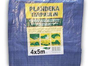 Bâche 4x 5m Tapis de sol avec anneaux en métal couvertures Sunshading Hamac Tente Portable étanche Coque Chiffon de voiture Toit léger pour randonnée Camping de la marque Tarpaulin image 0 produit