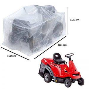 Bâche de protection pour grandes tondeuse ou petits tracteurs, 180x 100x H 105cm de la marque ribimex image 0 produit