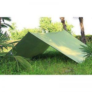 Bâche Imperméable 3m x 3m / crayfomo Bâche Anti-pluie /Abri de Randonnée, Toile de Tente(vert olive) de la marque Crayfomo image 0 produit