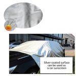 Bâche Imperméable 3m x 3m / crayfomo Bâche Anti-pluie /Abri de Randonnée, Toile de Tente(vert olive) de la marque Crayfomo image 2 produit