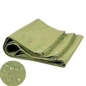 Bâche imperméable à l'eau de protection solaire de toile de camion de protection contre la corrosion et l'oxydation, épaisseur 0.85mm, 550G/m2, vert (9 tailles disponibles) (taille : 2X2M) de la marque Hongyan image 0 produit
