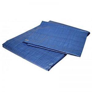 Bâche jardin 2x3 m 80g/m² - bâche bois - bâche de protection plastique bleue polyéthylène de la marque Univers Du Pro image 0 produit