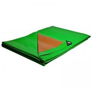 Bâche jardin 3 x 5 m 250g/m² - bâche bois - bâche de protection plastique verte et marron polyéthylène de la marque Univers Du Pro image 0 produit