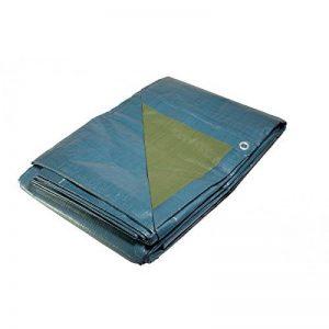 Bâche jardin 5x8 m 150g/m² - bâche bois - bâche de protection plastique bleue et verte polyéthylène de la marque Univers Du Pro image 0 produit