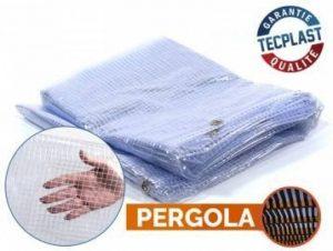 Bâche Pergola 400 g/m² - 2.1 x 4.5 m - bache transparente pour toile de pergola - bache imperméable de la marque Bâches Direct image 0 produit