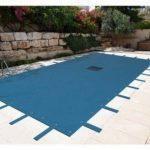 Bâche piscine rectangulaire 6 x 10 m avec filet d'écoulement centrale - couverture piscine - bache imperméable - baches piscine de la marque Bâches Direct image 2 produit