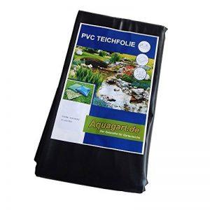 Bâche pVC de 6 m x 6 m 0,5 mm-noir-film de protection pour bassin de la marque Aquagart image 0 produit