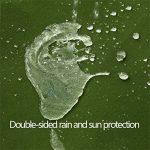 Bâche verte militaire tissu de pluie imperméable à l'eau de protection solaire de tissu d'ombre extérieur hangar bâche de bâche de toile de bâche, épaisseur 0.9MM, 550 g / m2, 9 options de taille ( taille : 6*4 ) de la marque Lyt-223 image 3 produit