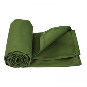 Bâche verte militaire tissu de pluie imperméable à l'eau de protection solaire de tissu d'ombre extérieur hangar bâche de bâche de toile de bâche, épaisseur 0.9MM, 550 g / m2, 9 options de taille ( taille : 6*4 ) de la marque Lyt-223 image 0 produit