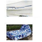 Bâches DUO Abri épais camping Camo imperméable pour la piscine de bateau avec des oeillets (taille : 10mx12m) de la marque Bâches image 4 produit