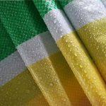 Bâches DUO Couleur Tissu Épaisse Tissu Imperméable Anti-vieillissement Protection Solaire Imperméable à l'eau Tissu Tissu Étanche 100g/m² -0.1mm (taille : 4*50m) de la marque Bâches image 2 produit