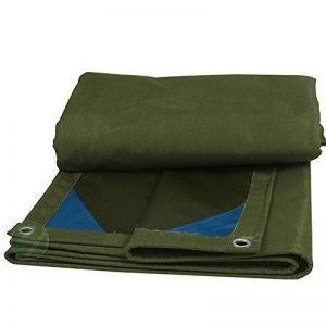 Bâches DUO couverture de remorque de tente imperméable épaisse imperméable de PVC couvre dans de multiples tailles (Couleur : B, taille : 6mx8m) de la marque Bâches image 0 produit