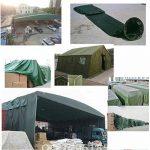 Bâches DUO couverture de remorque de tente imperméable épaisse imperméable de PVC couvre dans de multiples tailles (Couleur : B, taille : 6mx8m) de la marque Bâches image 3 produit