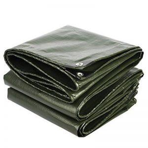 Bâches DUO Matériau épais de couverture épaisse, imperméable à l'eau, grand pour la tente d'auvent, bateau, RV ou piscine Épaisseur de couverture 0.35mm, 180g/m² de la marque Bâches image 0 produit