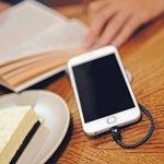 Câble iPhone Rampow® [MFI certifié Apple] Câble Lightning vers USB en Fibre de Nylon Tressé - GARANTIE À VIE - Chargeur iPhone avec Connecteur Ultra Résistant en Aluminium pour iPhone X / 8 / 8 Plus / 7 / 7 Plus / SE / 6s / 6s Plus / 6 / 6 Plus / 5c / 5s image 2 produit
