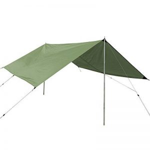 CampAir Tarp L Toile de Tente Camping – 400 x 400 cm – vert de la marque CampAir image 0 produit