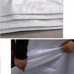 CHAOXIANG Bâche Couverture Épaissir Imperméable Antigel Ombre Anti-corrosion Anti-âge Pliable Poids Léger PE Blanc, 160g/M2, 17 Tailles (Couleur : Blanc, taille : 5x10m) de la marque CHAOXIANG-pengbu image 2 produit