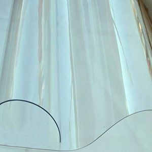 CHAOXIANG Bâche Couverture Transparent Épaissir Pliable Double Face Imperméable Protection Solaire Résistant Au Froid Étanche À La Poussière Résiste À L'humidité Anti-corrosion Poids Léger PVC, 100g / M2, 8 Tailles ( taille : T1mm-2x1.1m ) de la marque CH image 0 produit