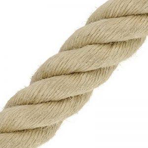 Corde Cordage en chanvre synthétique 40mm vente au mètre toronné Catégorie A (prix au mètre) de la marque Kanirope image 0 produit