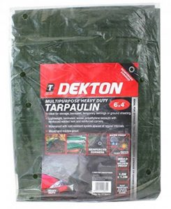 Dekton Dt95410Heavy Duty Bâche multi-usage, Noir/rouge, 6x 4 de la marque Dekton image 0 produit