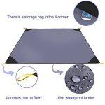 EKKONG Tapis de Sol/Bâche de Tente Étanche Pour Camping Randonnée ou Pique-nique de la marque EKKONG image 1 produit