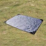 EKKONG Tapis de Sol/Bâche de Tente Étanche Pour Camping Randonnée ou Pique-nique de la marque EKKONG image 4 produit