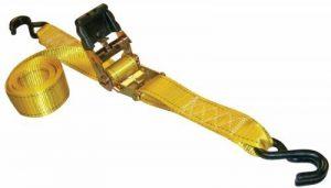 Erickson (34410Série Pro Jaune 5,1cm X 10'Poignée en caoutchouc Sangle d'arrimage à cliquet, (lot de 2) de la marque Erickson image 0 produit