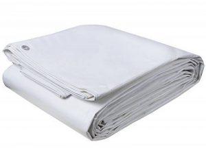 EUGAD Bâche de protection 4x8m Blanc, bâche de camping, de barbecue, bâche de couverture PE, imperméable à l'eau,180g/m² GZ1176m3 de la marque EUGAD image 0 produit