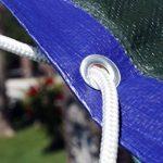 Ferpro 0300152 Labor Bâche en PVC renforcé avec œillets, vert, 68291 de la marque Labor image 5 produit