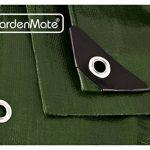 GardenMate® 1,5mx6m Bâche de protection en PP/PE rectangulaire vert 200g/m² - Outillage professionnel de la marque GardenMate® image 2 produit