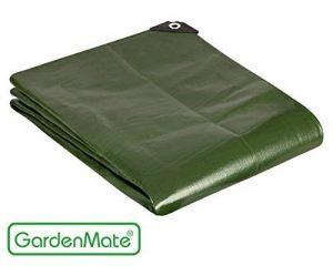 GardenMate® 2mx3m Bâche de protection en PP/PE rectangulaire vert 200g/m² -Outillage professionnel de la marque GardenMate® image 0 produit