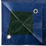 GardenMate® Bâche de protection 2x3m VERT/BLEU UNIVERSAL Bâche à oeillets bâche bâteau 90g/m² de la marque GardenMate image 2 produit