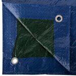 GardenMate® Bâche de protection 3x6m VERT/BLEU UNIVERSAL Bâche à oeillets bâche bâteau 90g/m² de la marque GardenMate image 2 produit