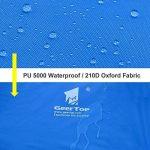 GEERTOP Étanche Bâche de Tente Légère Poratble Impermeable Anti-pluie pour Camping Randonnee Pique-nique Abri - 300 x 220 cm avec Cordes et Piquets (Bleu) de la marque GEERTOP image 2 produit