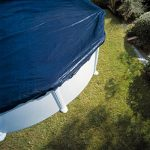 GRE CIPROV731 Bâche Hiver pour Piscine Ovale, Bleu, 820 x 460 x 0.2 cm de la marque Gre image 1 produit